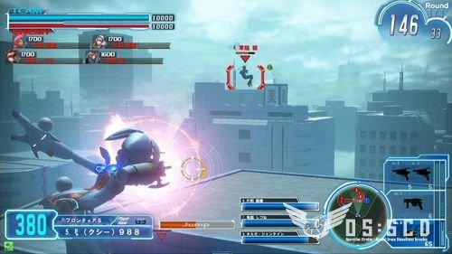 Gunslinger Stratos (ARC)  © Square Enix 2012   4/5