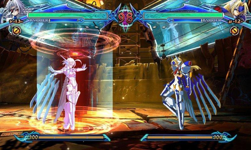 BlazBlue: Chrono Phantasma (ARC)  © Arc System Works 2012   4/9