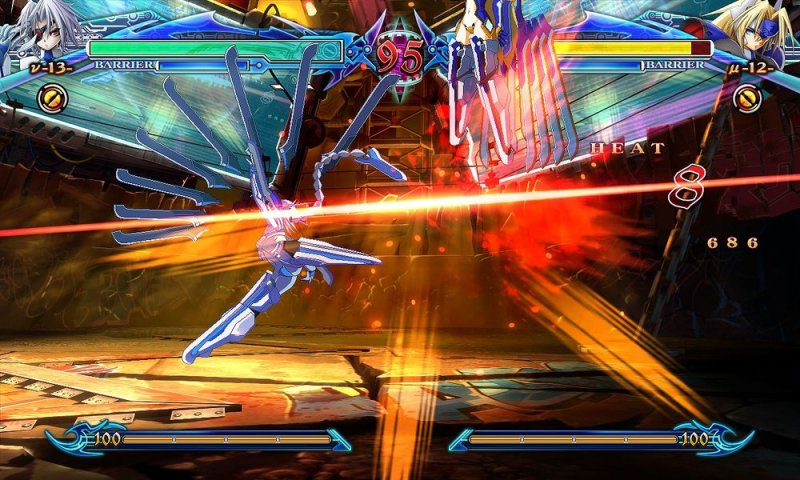 BlazBlue: Chrono Phantasma (ARC)  © Arc System Works 2012   5/9