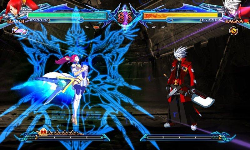 BlazBlue: Chrono Phantasma (ARC)  © Arc System Works 2012   8/9