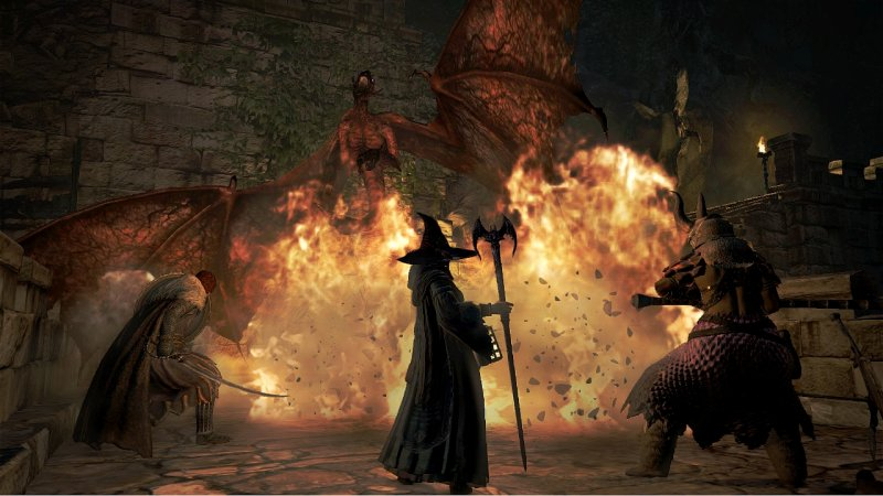 Dragon's Dogma: Dark Arisen (X360)  © Capcom 2013   4/4