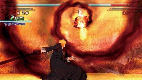 Bleach: Heat The Soul 6 (PSP)  © Sony 2009   6/8