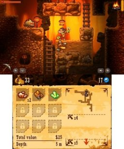 SteamWorld Dig (3DS)   © Image & Form 2013    1/3