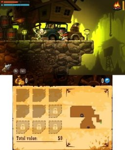 SteamWorld Dig (3DS)   © Image & Form 2013    2/3