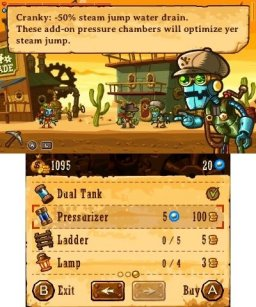 SteamWorld Dig (3DS)   © Image & Form 2013    3/3