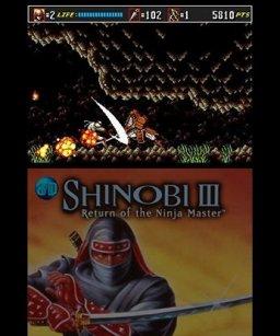 3D Shinobi III: Return Of The Ninja Master (3DS)  © Sega 2013   2/3