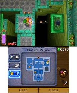 The Legend Of Zelda: A Link Between Worlds  © Nintendo 2013  (3DS)   1/3