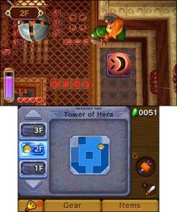 The Legend Of Zelda: A Link Between Worlds  © Nintendo 2013  (3DS)   3/3