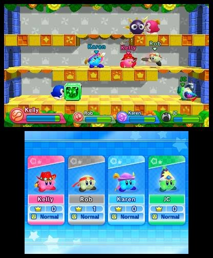 Kirby Triple Deluxe (3DS)  © Nintendo 2014   4/4
