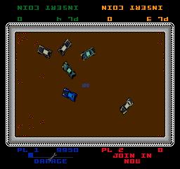Demolition Derby (1984) (ARC)  © Midway 1984   3/3
