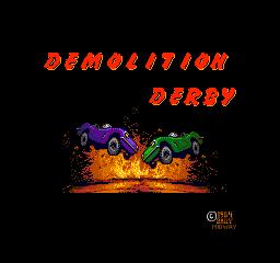 Demolition Derby (1984) (ARC)  © Midway 1984   1/3