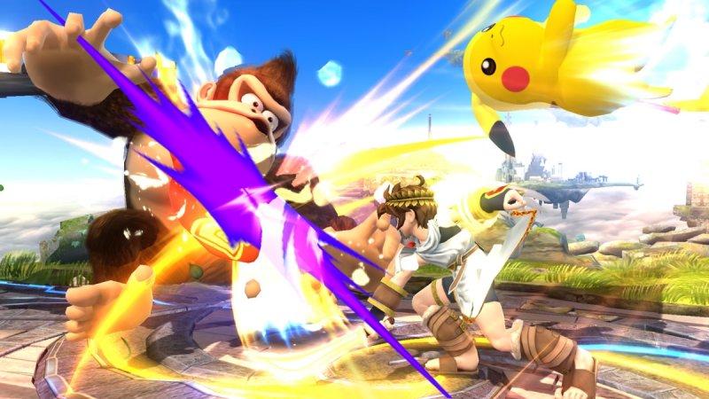 Super Smash Bros. For Wii U (WU)  © Nintendo 2014   4/6