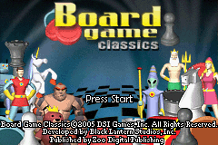 Board Game Classics (GBA)  © Zoo Games 2005   1/3