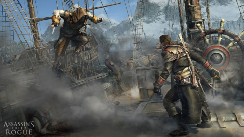 Assassin's Creed Rogue (PS3)  © Ubisoft 2014   4/4