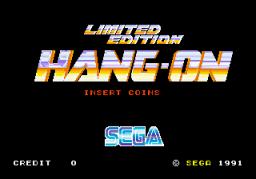 Hang-On: Limited Edition (ARC)  © Sega 1991   1/2