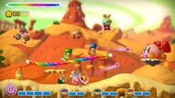 Kirby And The Rainbow Curse (WU)  © Nintendo 2015   2/9