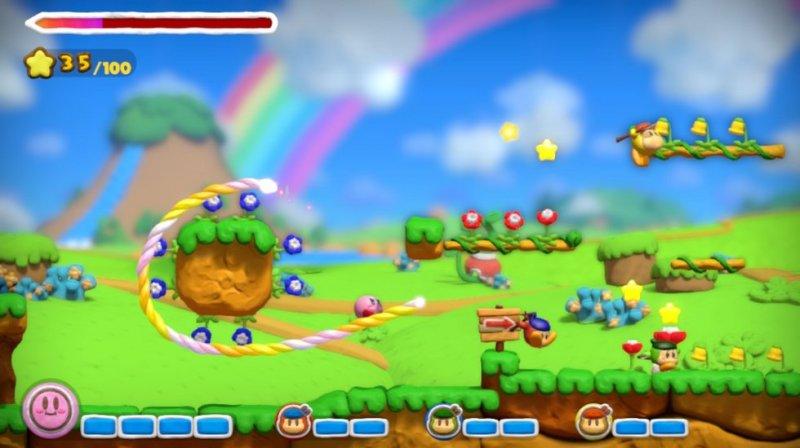 Kirby And The Rainbow Curse (WU)  © Nintendo 2015   4/9
