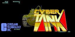 Cyber Tank (ARC)  © Coreland 1988   1/4