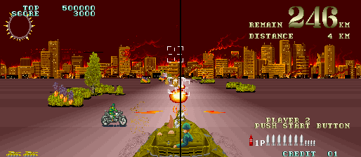Cyber Tank (ARC)  © Coreland 1988   4/4