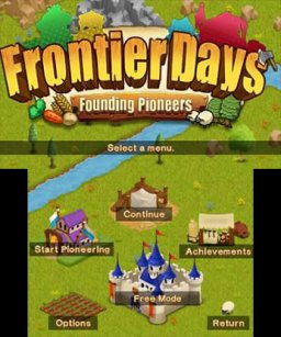 Frontier Days: Founding Pioneers (3DS)  © Circle Entertainment 2015   1/3