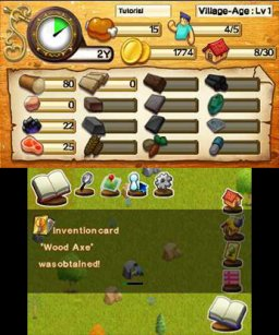 Frontier Days: Founding Pioneers (3DS)  © Circle Entertainment 2015   2/3