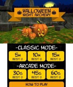 Halloween Night Archery (3DS)  © Petite Games 2017   1/3