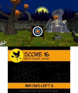 Halloween Night Archery (3DS)  © Petite Games 2017   2/3