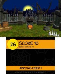 Halloween Night Archery (3DS)  © Petite Games 2017   3/3