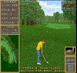 Golden Par Golf (ARC)  © Strata 1992   1/3