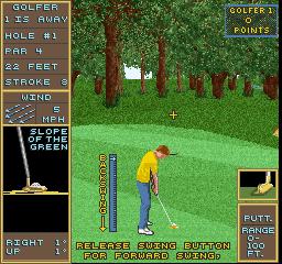 Golden Par Golf (ARC)  © Strata 1992   2/3