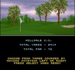 Golden Par Golf (ARC)  © Strata 1992   3/3