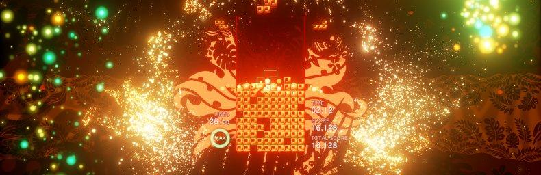 """<h2 class='titel'>Tetris Effect</h2><div><span class='citat'>""""Tetris Effect føles lidt som Rez Infinite på den måde. Ja man kan sagtens spille ude VR og synes man har en fed oplevelse, men jeg er ikke nær så meget """"in the zone"""" når jeg spiller de to spil på alm skærm.""""</span><span class='forfatter'>- 3of19</span></div>"""