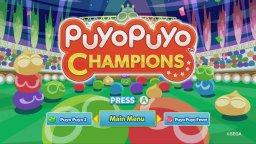 Puyo Puyo Champions (XBO)  © Sega 2019   1/3