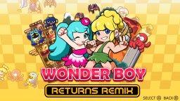 Wonder Boy Returns: Remix (NS)  © CFK 2019   1/3