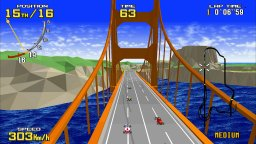 Sega AGES: Virtua Racing (NS)  © Sega 2019   2/3