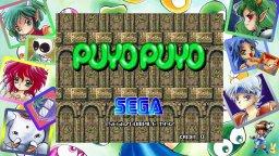 Sega AGES: Puyo Puyo (NS)  © Sega 2019   1/3
