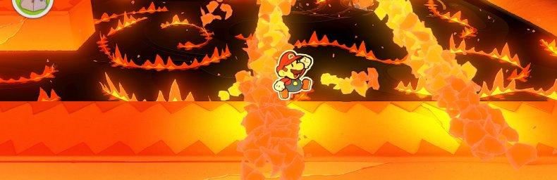 """<h2 class='titel'>Paper Mario: The Origami King</h2><div><span class='citat'>""""Så spillede jeg alligevel Paper Mario 1 igennem. Faktisk både det og Color Splash, jeg var for nysgerrig omkring serien til bare at stoppe. :)  Kan sige at Paper Mario 1 er langt bedre mht. de irritationsmomenter der he...""""</span><span class='forfatter'>- Sumez</span></div>"""