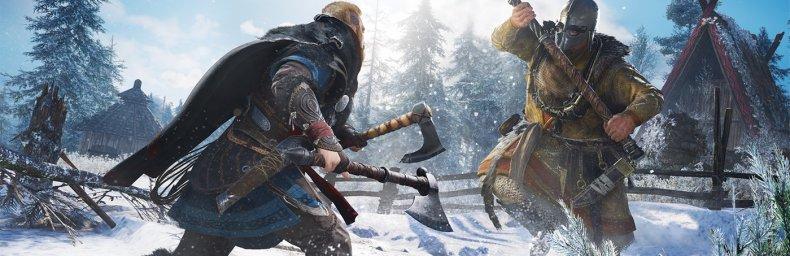 """<h2 class='titel'>Assassin's Creed Valhalla</h2><h2 class='score'>6/10</h2><div><span class='citat'>""""Holder sig til AC Origins/Odyssey skabelonen med vikingetema som fungerer fremragende. Ok historie. Grafisk flot og performer fint i 60fps på PS5, men lider under glitches og sjuskede småfejl.""""</span><span class='forfatter'>- Beano</span></div>"""