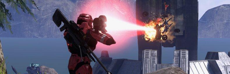 """<h2 class='titel'>Halo 3</h2><h2 class='score'>9/10</h2><div><span class='citat'>""""...uden sammenligning det bedste kapitel i serien, jeg har spillet, når man tænker på hvor mange spil man får i Halo: The Master Chief Collection, så er samlingen ved at indeholde en utrolig værdig, og hundredvis af timers underholdning.""""</span><span class='forfatter'>- Claus Larsen, Gamereactor</span></div>"""