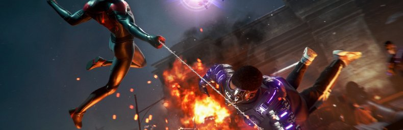 """<h2 class='titel'>Spider-Man: Miles Morales [Ultimate Edition]</h2><h2 class='score'>7/10</h2><div><span class='citat'>""""Solidt og velfungerende gameplay. Grafisk flot og flydende på PS5. Hovedhistorien er alt for hurtigt overstået og der er for lidt side-indhold ift. spillets pris. Fejl og crashes trækker ned.""""</span><span class='forfatter'>- Beano</span></div>"""