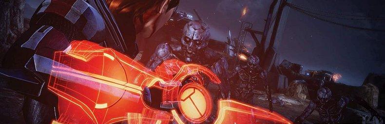 "<h2 class='titel'>Mass Effect: Legendary Edition</h2><h2 class='score'>4.5/5</h2><div><span class='citat'>""...den perfekte sammenkomst af Mass Effect spil, samlet i én pakke. Vi har nydt spillene, og synes vi også du skal!""</span><span class='forfatter'>- Jonas Plum, Gamers Lounge</span></div>"