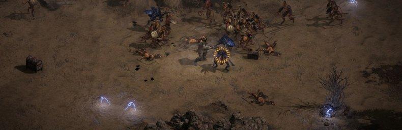 """<h2 class='titel'>Diablo II: Resurrected</h2><h2 class='score'>4.0/5</h2><div><span class='citat'>""""...er stadig den genre definerede dungeon crawler fra 2000 på godt og ondt. De 27 minutter opdaterede cutscenes er fantastiske.""""</span><span class='forfatter'>- Jan Bo Kristensen, Gamers Lounge</span></div>"""