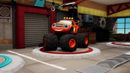 Blaze And The Monster Machines: Axle City Racers (NS)  © Outright 2021   1/3