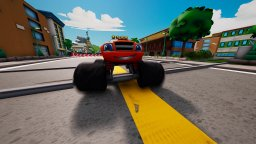 Blaze And The Monster Machines: Axle City Racers (NS)  © Outright 2021   3/3