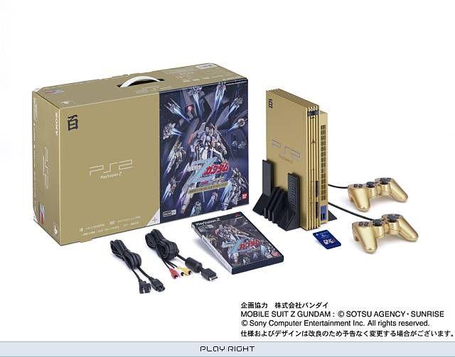WTB: Mobile Suite Gundam: Z100 Gold PS2 | ASSEMbler - Home